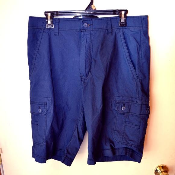 wear first Other - 4for$25dark blue wear first cargo shorts size 34
